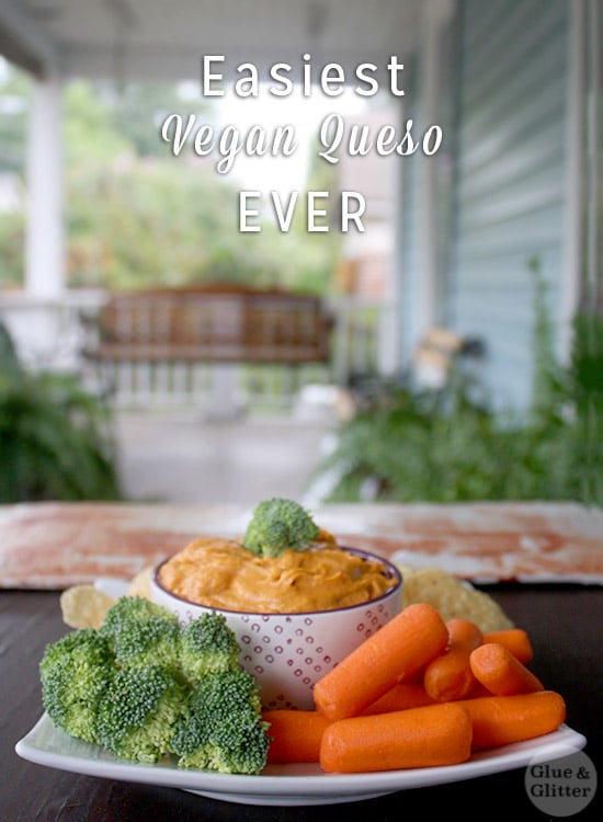 This is sort of an old-school vegan queso recipe, and it's still one of my favorites. A classic!