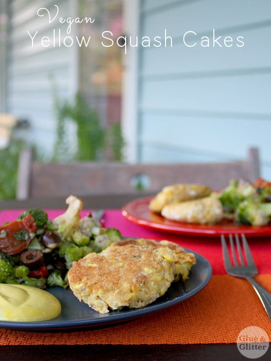 These vegan squash patties don't use any special ingredients. You can find everything you need at the regular grocery store.