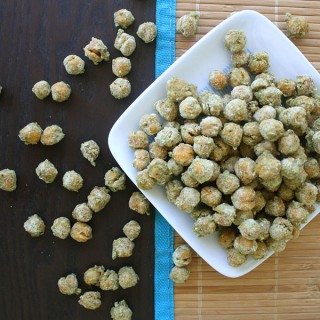 Wasabi Roasted Chickpeas