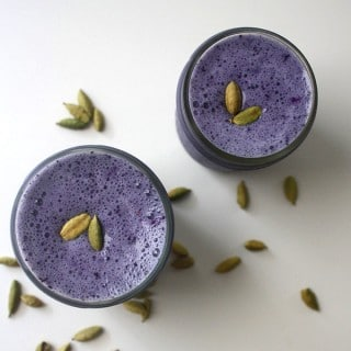 Blueberry Cardamom Smoothie from Blend it Up