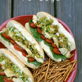 Artichoke Muffaletta Po' Boys from Cook the Pantry