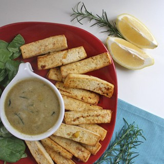 Lemon-Herb Tofu Fingers