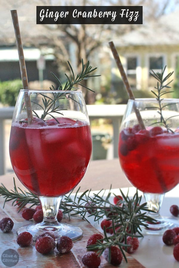 Cranberry Fizz Cocktail Recipe: Ginger Cranberry Fizz (cocktail Or Mocktail