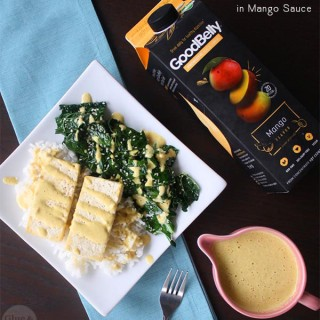 Probiotic Mango Sauce (4 ingredients!)