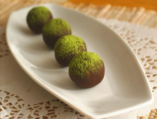Vegan Matcha Truffles