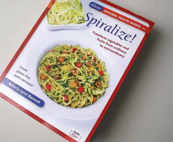 photo of the book Spiralize! by Beverly Lynn Bennett