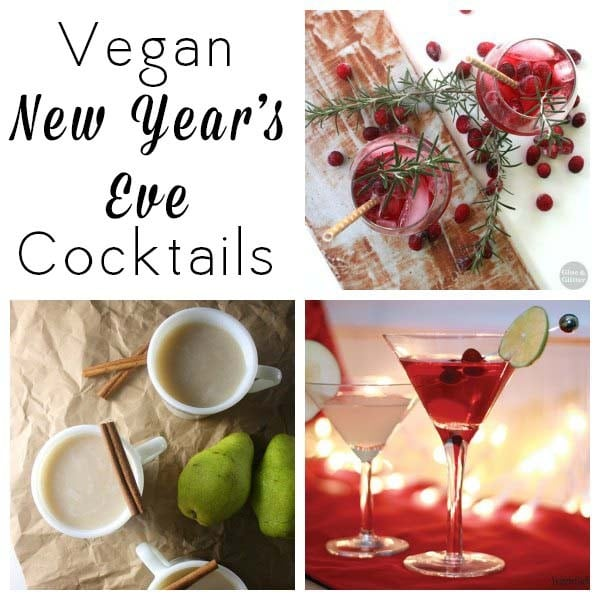 Vegan Cocktails for New Year's Eve