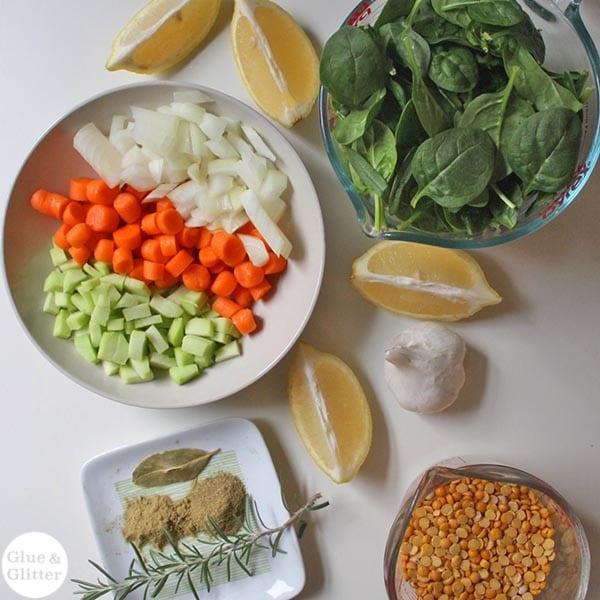 Yellow Split Pea Soup Recipe