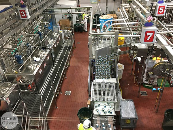 They let us take pictures of the factory floor. Their pint-packing process is mesmerizing to watch!
