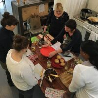 Earlier this month, I taught my very first vegan cooking workshop of the year, and it was a huge success!