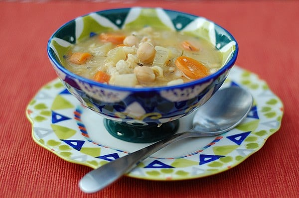 Get-Well-Quick Chickpea Soup by Kathy Hester