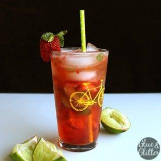Darrol's Special Strawberry Drink