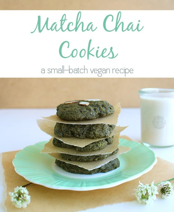 Matcha chai tea cookies are crunchy-yet-chewy, sweet-yet-mildly-spicy, and a general party in your mouth.
