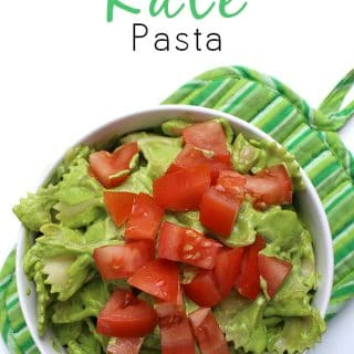 Creamy Kale Pasta Sauce is Sneakily Healthy