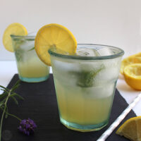 Lavender Lemon Mojito - Lavender is good for more than just making things smell good. Muddle some into this lemony spin on a traditional mojito!