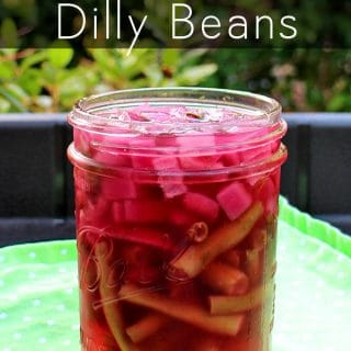 Quick & Easy Refrigerator Dilly Beans