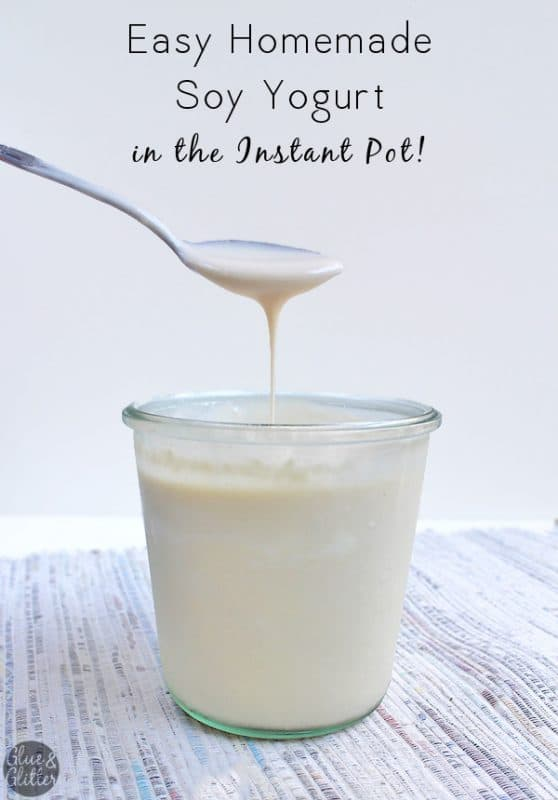 You only need two ingredients to make soy yogurt in the Instant Pot. It could not be easier. Join me, as I spill all of my yogurt-making tricks!