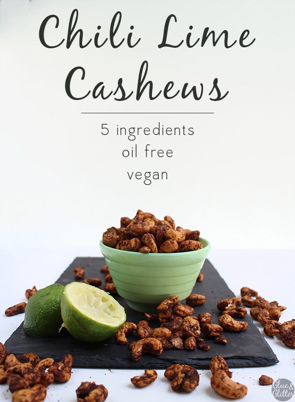 Chili lime cashews are a super easy Trader Joe's knock-off. They only have 5 ingredients and cost so much less than the pre-made kind!