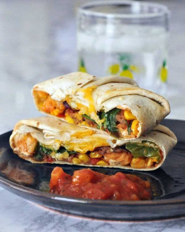 Vegan Fish Taco Crisp Wraps from Spabettie