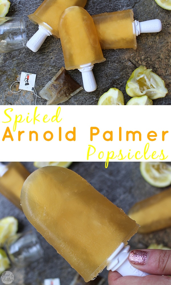 image collage of Arnold Palmer pops from different angles with text overlay