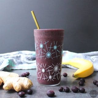 Ginger Blue Green Smoothie