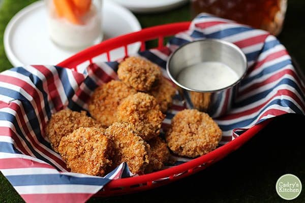 Air Fryer Fried Pickles from Cadry's Kitchen