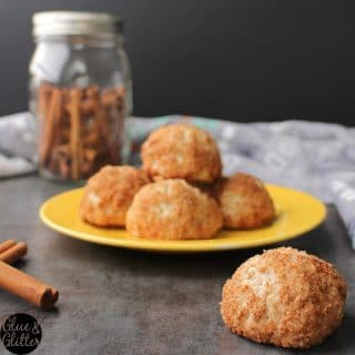 Chonut Holes: Churro Doughnut Holes Made in the Air Fryer