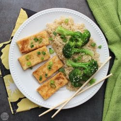 You don't have to go out to get delicious, crispy, restaurant-style Salt and Pepper Tofu. Make it at home in less than half an hour.