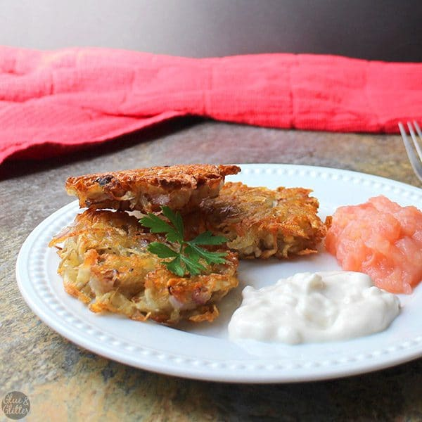 Giving up eggs doesn't have to mean giving up crispy, tender, perfect latkes. These vegan latkes are just as delicious as their traditional counterparts without an egg in sight.