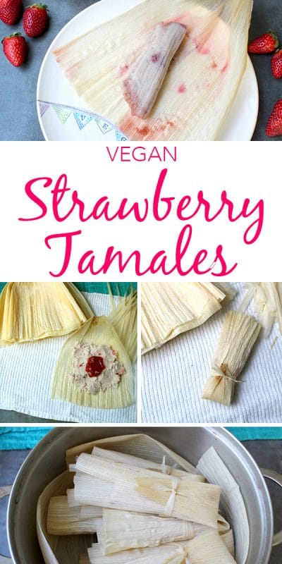 A sweet tamale might seem a little bit odd, but these strawberry tamales are going to change some hearts and minds! They're light, sweet, fruity and perfect for breakfast or dessert.