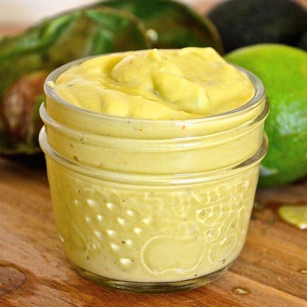Avocado Lime Dressing from A Virtual Vegan
