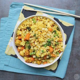 Air Fried Cauliflower  Rice