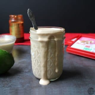 Chili-Ginger Tahini Dressing with Dorot
