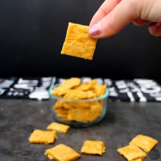 Vegan Cheesy Crackers from Veganize It!