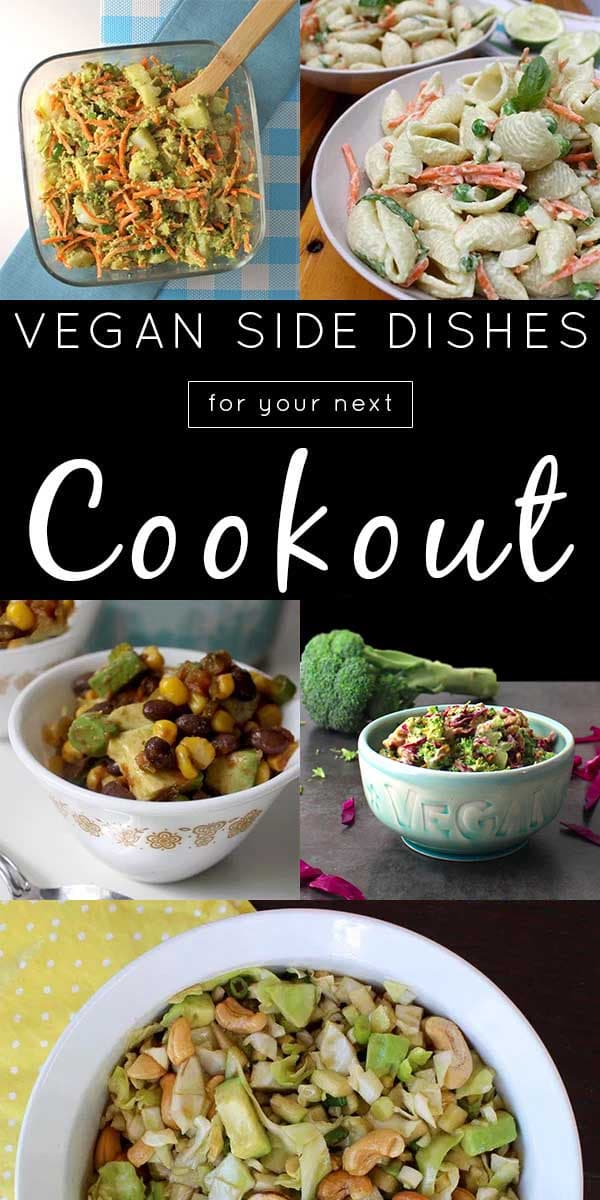 Round out your vegan grill recipes with some sides, and you are in business!