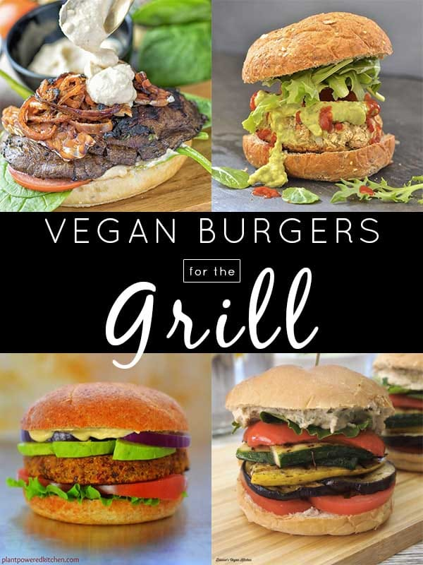 Sometimes, you just want to throw a burger onto the grill, and these grilled sandwiches and vegan burgers will hit the spot.