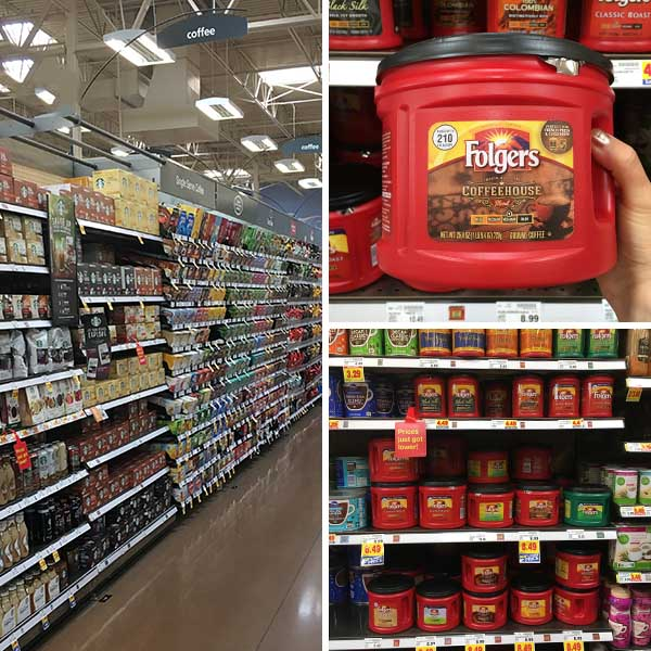 Folgers Coffeehouse Blend at Kroger