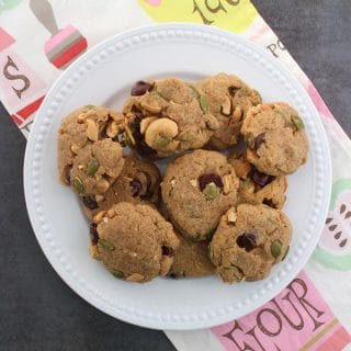 Vegan Maple Cookies with Nuts, Seeds, or Chocolate Chips