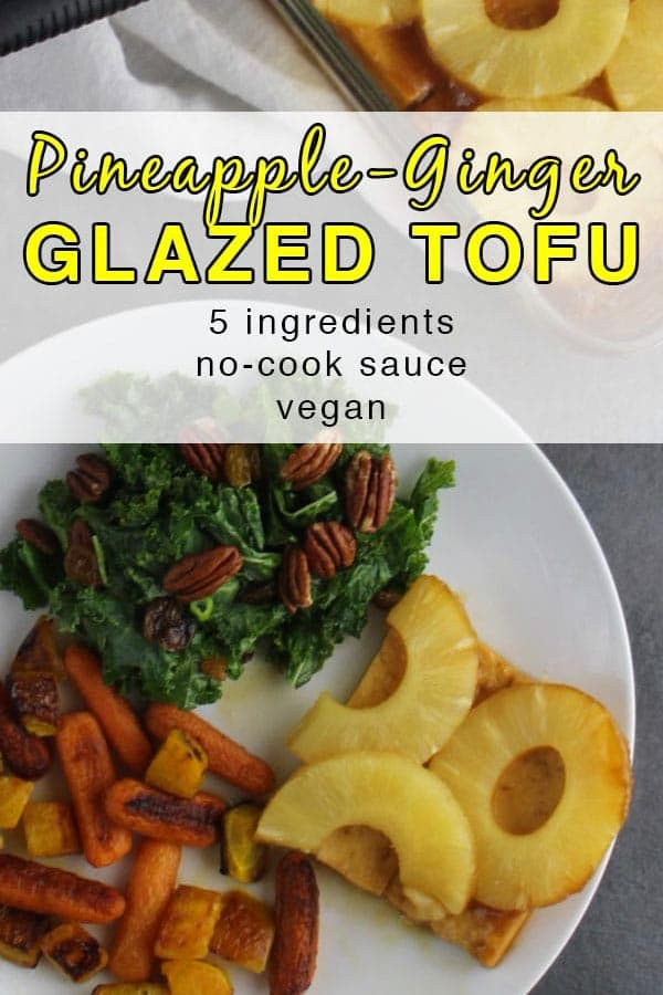Pineapple-Ginger Glazed Tofu