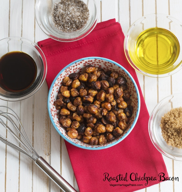 Roasted Chickpea Bacon from Vegan Heritage Press