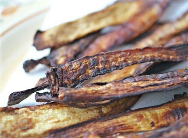 Ricki Heller's Vegan Eggplant Bacon