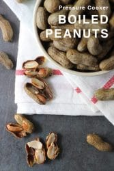 Why wait hours for boiled peanuts, when you can make Pressure Cooker Boiled Peanuts in a fraction of the time? You only need a few ingredients to make boiled peanuts in your Instant Pot or any pressure cooker.
