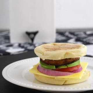 20 Minute Vegan Breakfast Sandwich – The Tofu McMuffin!