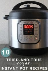10 Vegan Instant Pot Recipes My Family Loves (and Answers to Your Burning Instant Pot Questions!)