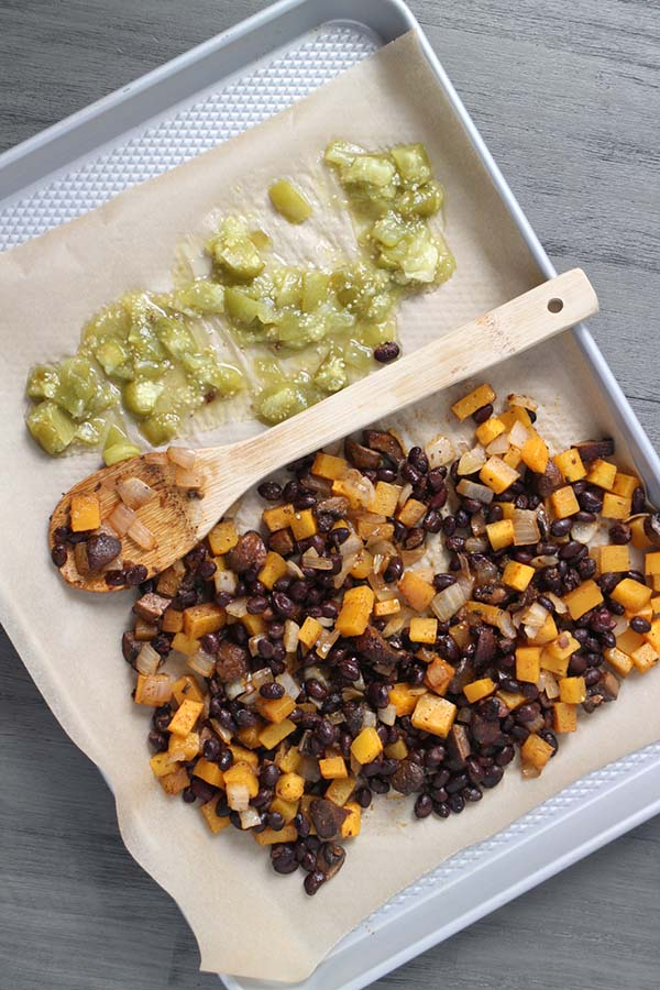 Sheet Pan Butternut Squash Tacos from VYA on the Go!