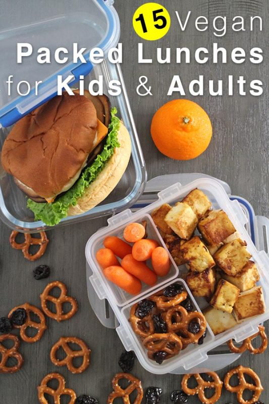 15 Packed Vegan Lunch Ideas for Kids and Adults