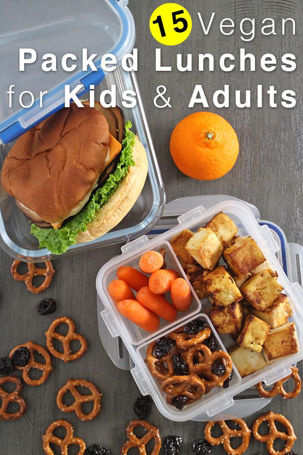 15 Vegan Packed Lunch Ideas For Kids And Adults Glue Glitter