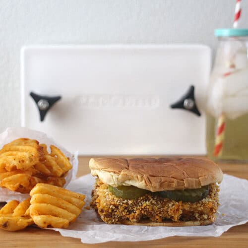 The To-ful-A: Spicy Tofu Sandwich - A Vegan Chick-fil-A Knockoff