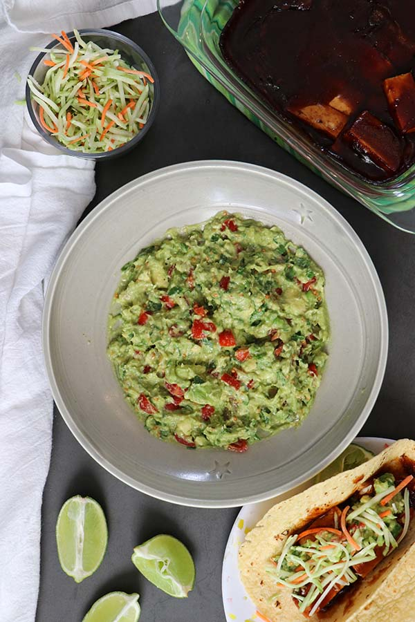 Pickled Jalapeno Guacamole