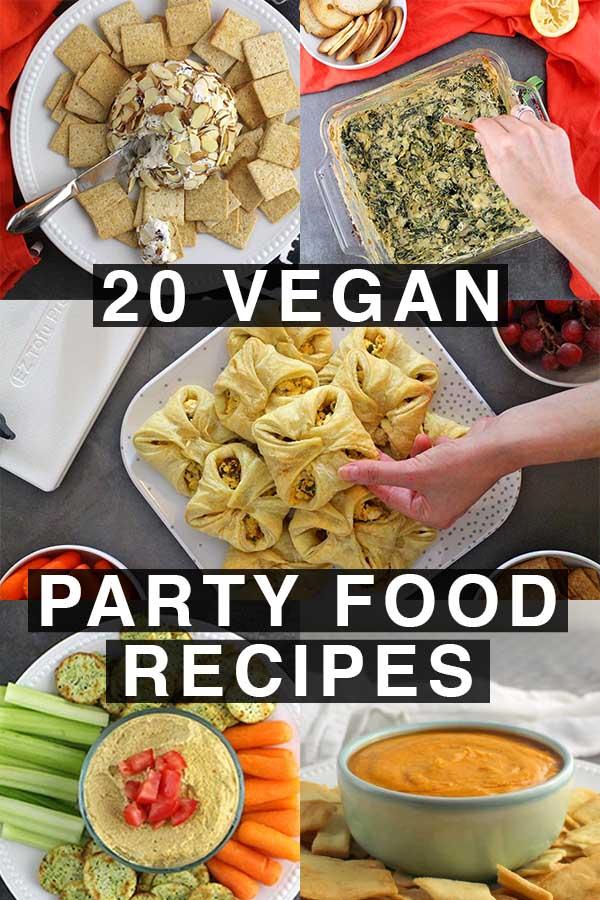 20 Crowd-Pleasing Vegan Party Food Recipes - Glue & Glitter